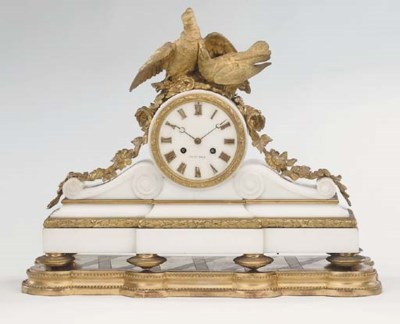A French gilt-bronze mounted w