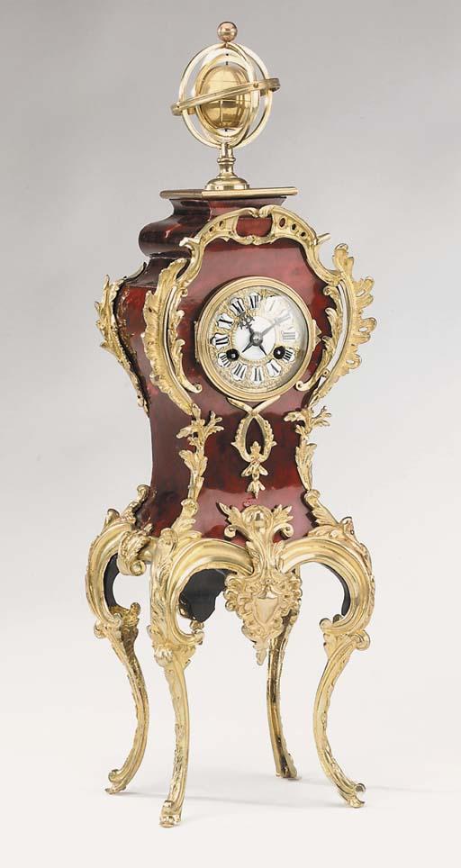 A French gilt-metal mounted mo
