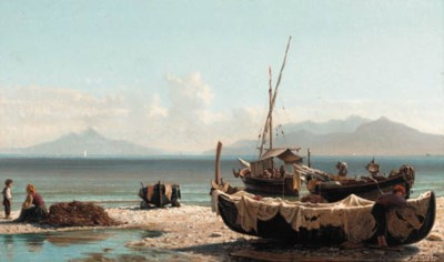Federico Nerly (Italian, 1824-