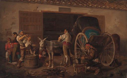 Bernardo Ferrandiz y Badenes (Spanish, 1835-1890)