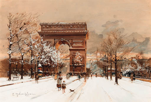 Eugene Galien-Laloue (French,
