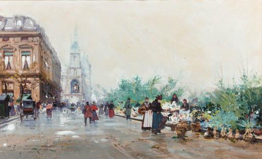 Eugene Galien-Laloue (French, 1854-1941)