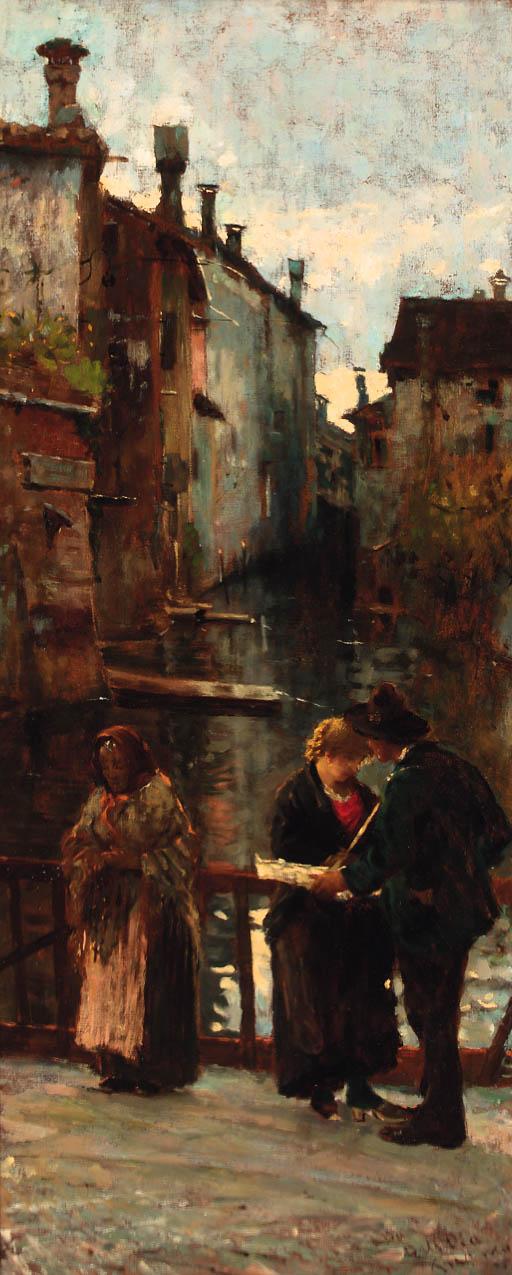 Angelo Dall'Oca Bianca  (Italian, 1858-1942)