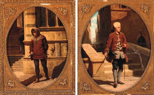 Oroardo Borrani (Italian, 1834