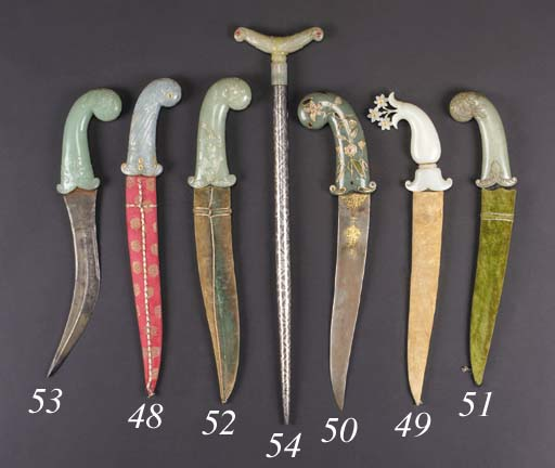 An Indian steel dagger 18/19th