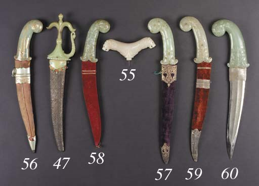 An Indian steel dagger 18th Ce