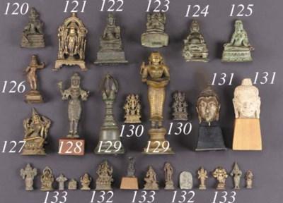 A Vijayanagar bronze model of