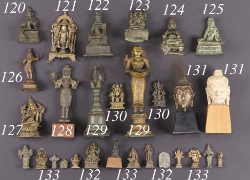A Pala bronze figure of Padmap