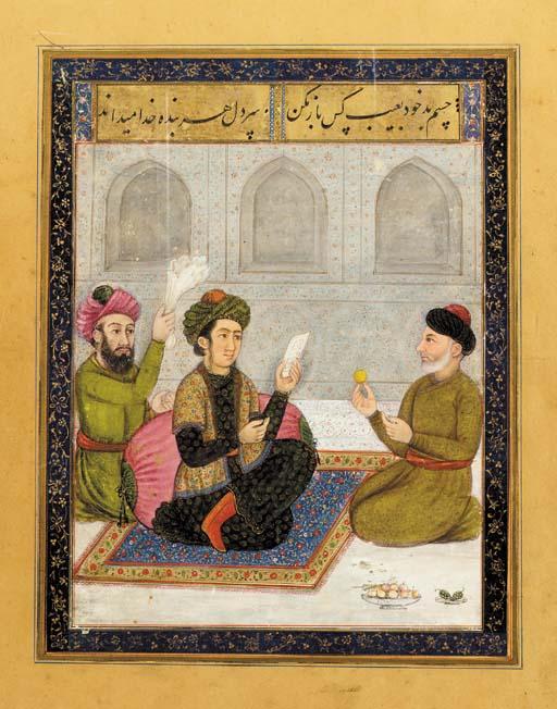 A PRINCE India or Iran, circa