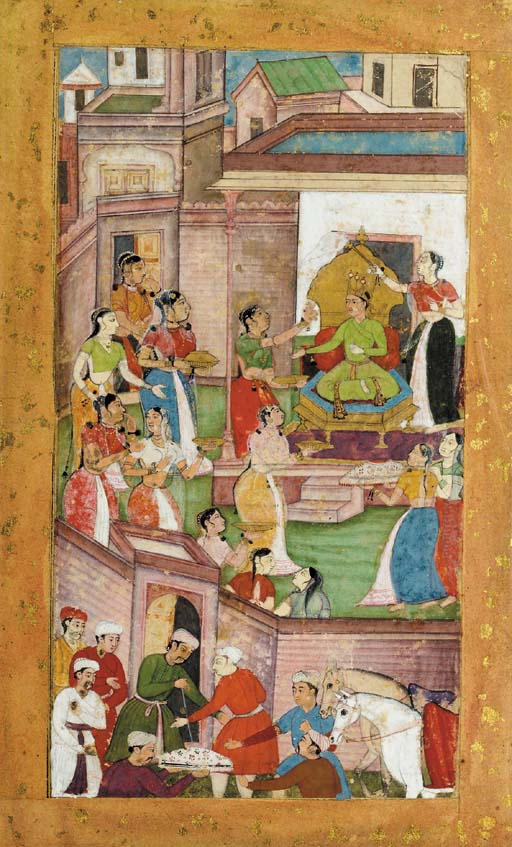 ILLUSTRATION TO AN EPIC Mughal