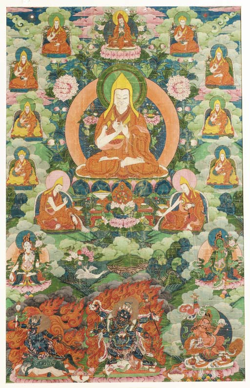 THANKA Tibet, 19th century