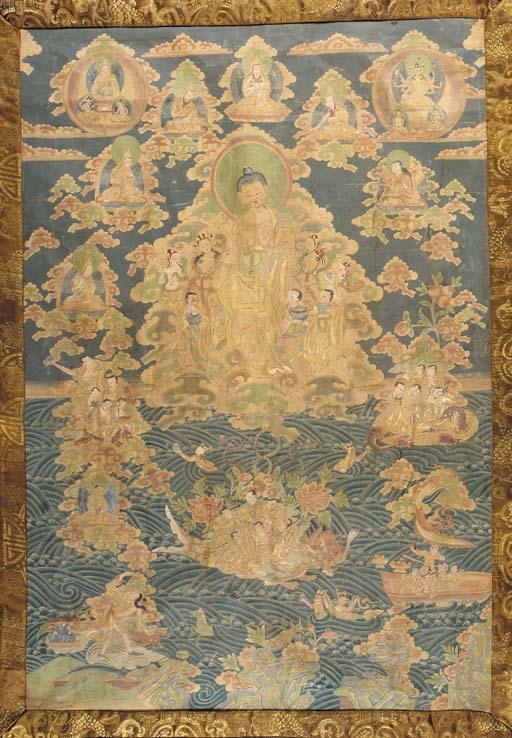 THANKA Tibet, 18th century