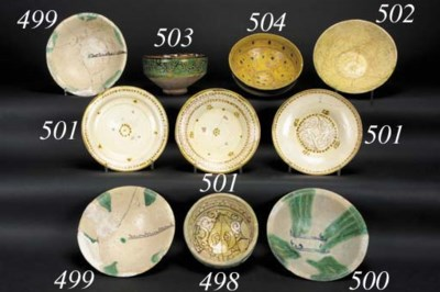A Samarra conical bowl