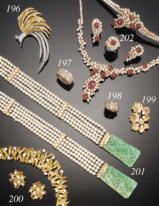 A continental, diamond cluster brooch,