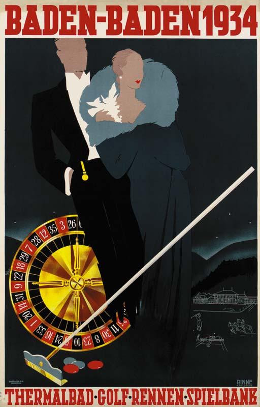 BADEN-BADEN 1934