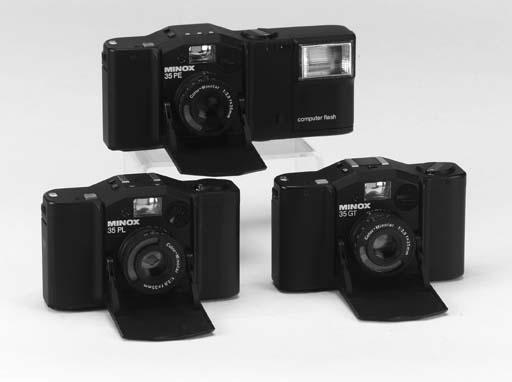 Minox 35 cameras