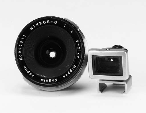 Nikkor-O f/4 2.1cm. no. 221511