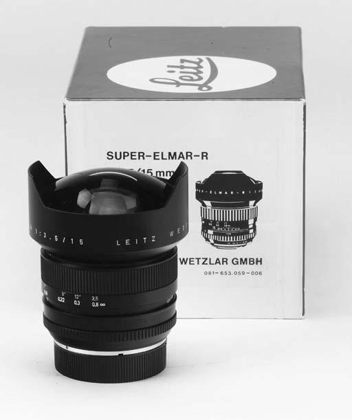 Super-Elmar-R f/3.5 15mm. no. 3004702