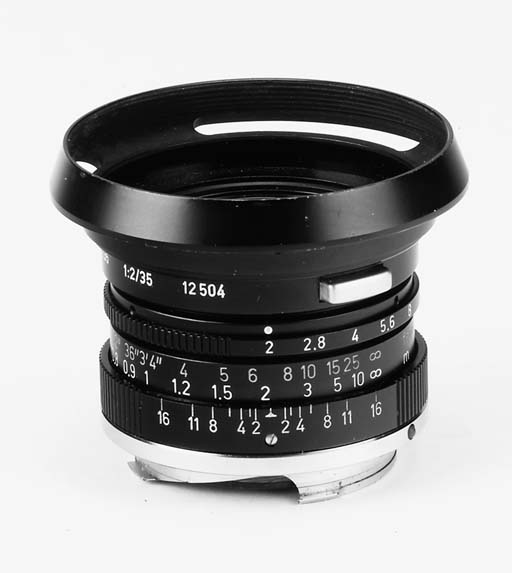 Summicron f/2 35mm. no. 248412