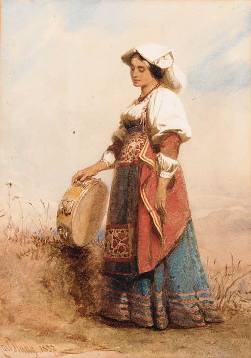 Carl Haag, R.W.S. (1820-1915)