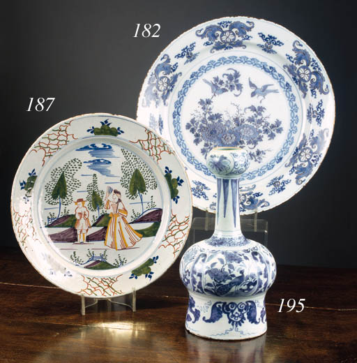 A Delft polychrome charger