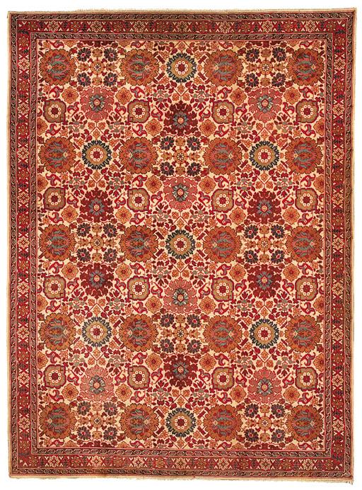 A fine European carpet