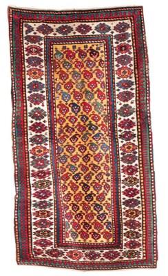 An antique Bordjalu Kazak rug,