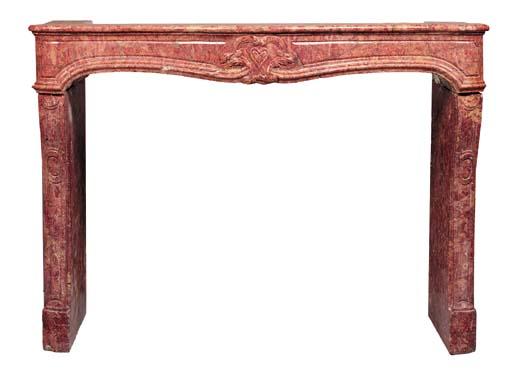 A Louis XV brocatello marble c