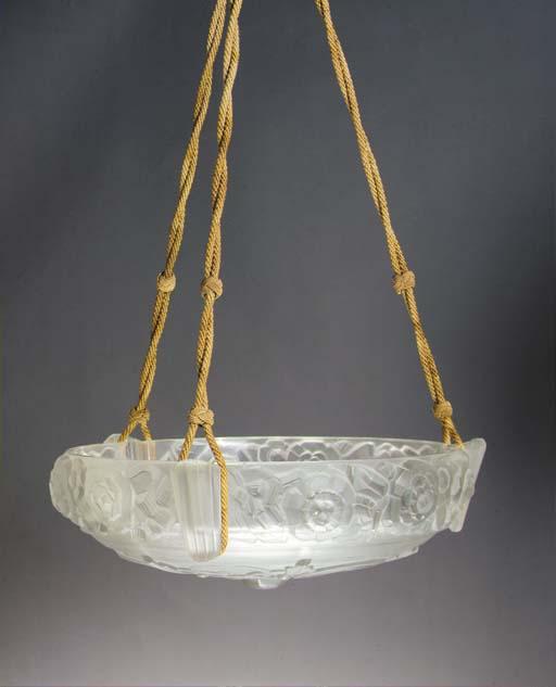 A Sabino frosted glass plafonn