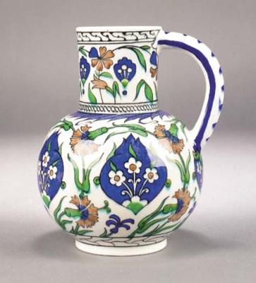 A Theodore Deck ceramic jug