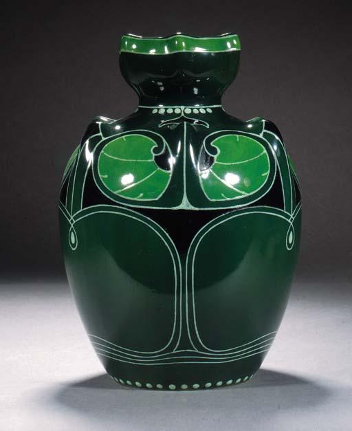 A Royal Bonn ceramic vase