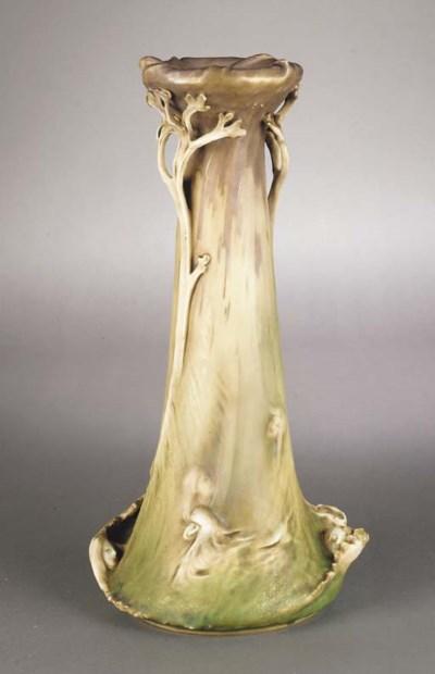 An Austrian Amphora Art Nouvea