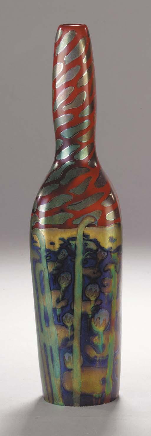 A Zsolnay ceramic vase