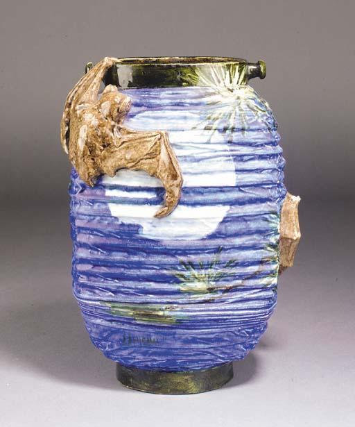 An Edmond Lachenal ceramic vas