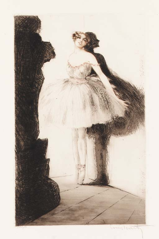 'Ballerina in the Wings' by Lo