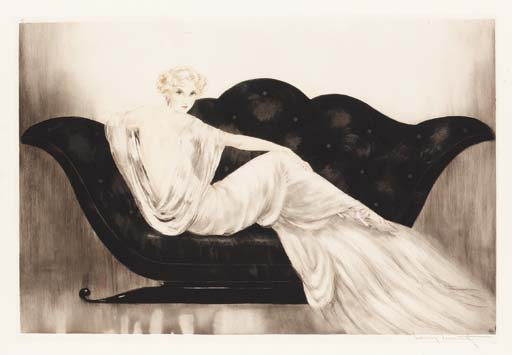 'Sofa' by Louis Icart
