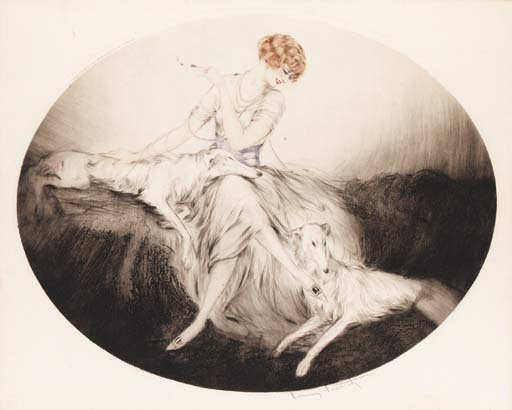 'Pals' by Louis Icart