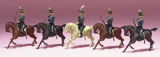 Britains Set 99 13th Hussars