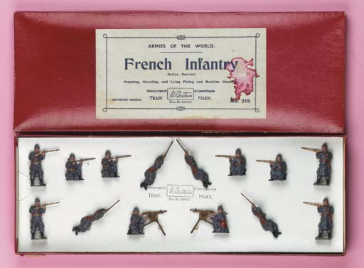 Britains Set 215 French Infant