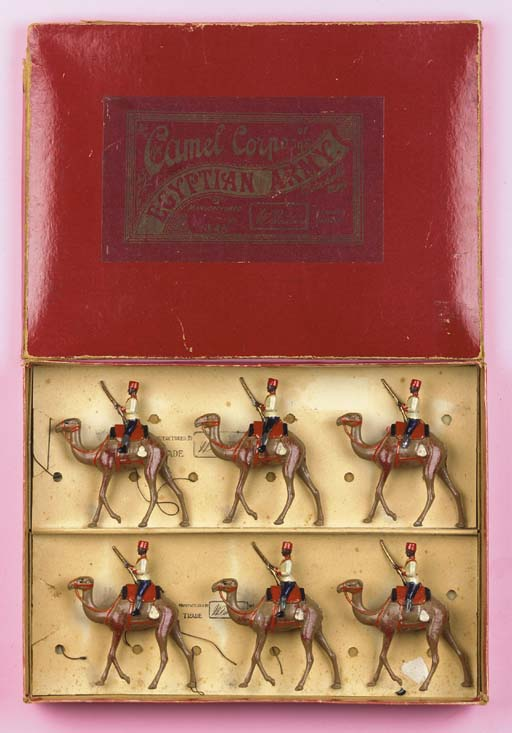 Britains Set 48 Egyptian Camel