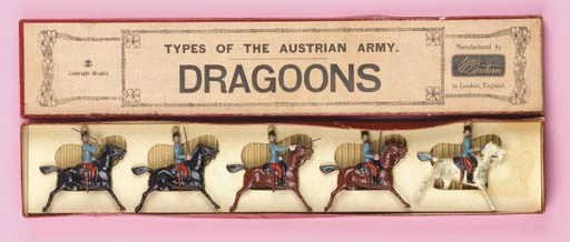 Britains Set 176 Austrian Drag