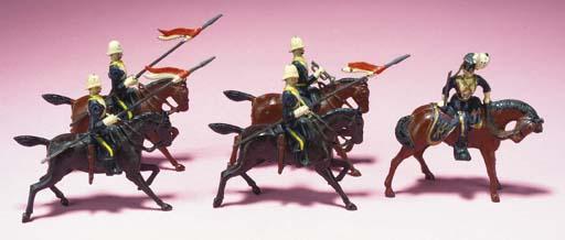 Britains Set 81 17th Lancers i