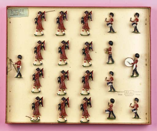 Britains Set 1722 Pipe Band of