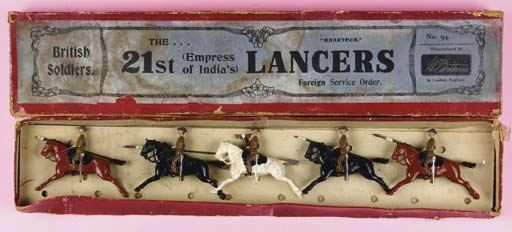 Britains Set 94 21st Lancers