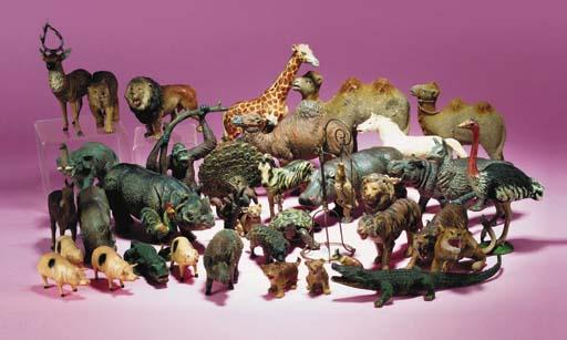 Elastolin Zoo Animals