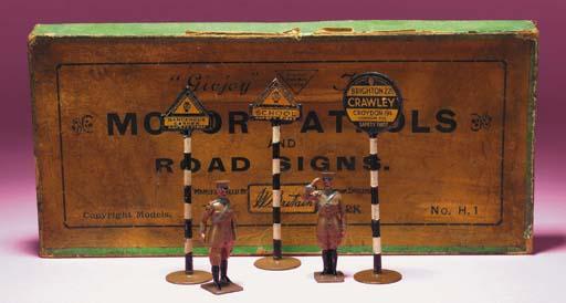 Britains A.A. Motor Patrols an
