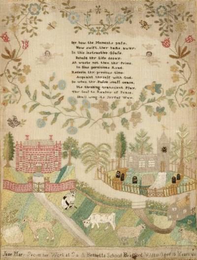 A fine sampler by Jane Mary Pr