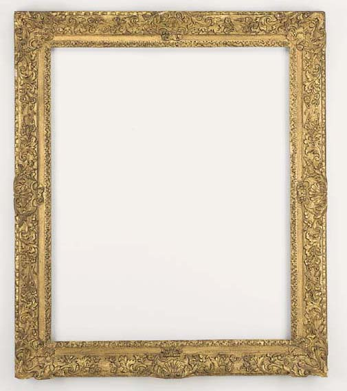 An English carved and gilded frame, early 18th century
