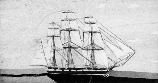 A mid-19th Century sailors woo