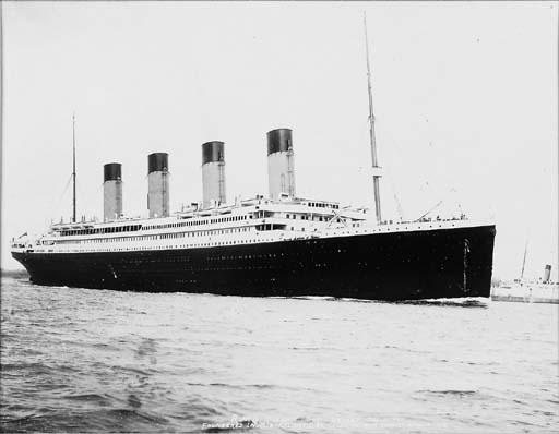 S.S. Titanic: A silver gelatin